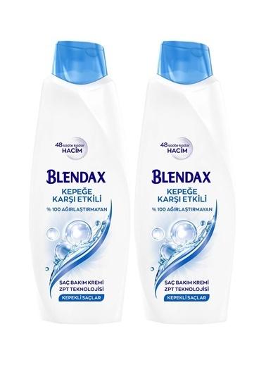 Blendax Blendax Kepeğe Karşı Etkili Saç Bakım Kremi 550 Mlx 2 Paket Renksiz